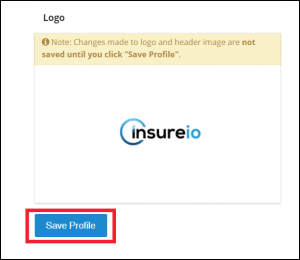 My Account - Branding Profile: How To Add Your Logo, Step 4